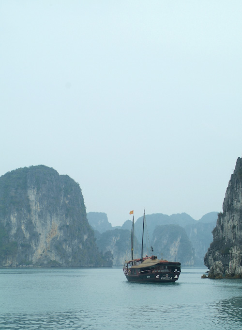 Junk boat in Halong Bay