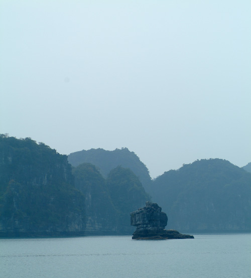 Lion Island in Halong Bay, Vietnam