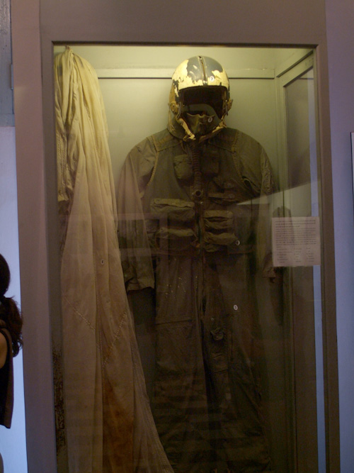 John McCain's flight suit at Hoa Lo Prison, aka the Hanoi Hilton