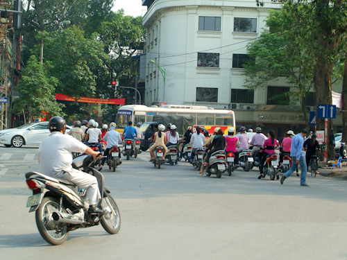 Motorcycles and scooters in Vietnam