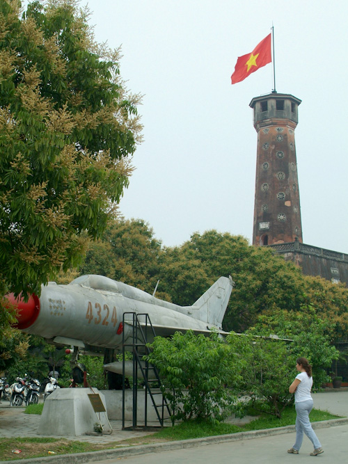 MIG-21 at Hanoi Military History Museum